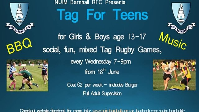 Barnhall Tag for Teens Poster
