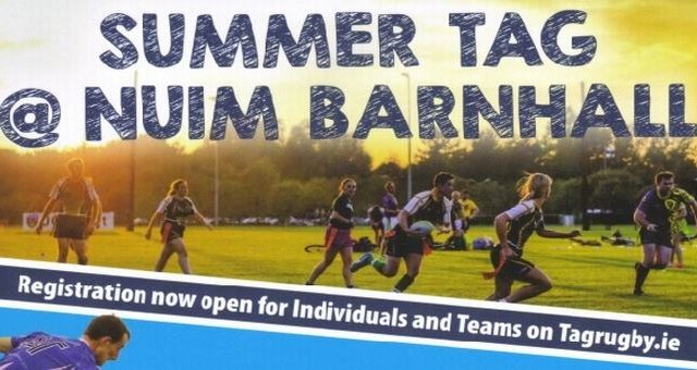 Tag rugby banner