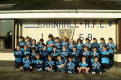 2011/2012 Season Mini rugby Teams