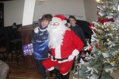 Santy visits the mini's in Parsonstown 2013